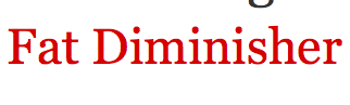 Fat diminisher coupon code